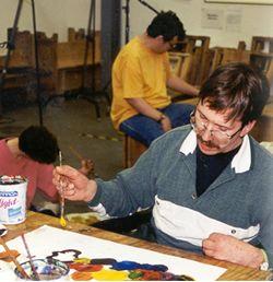 man_painting